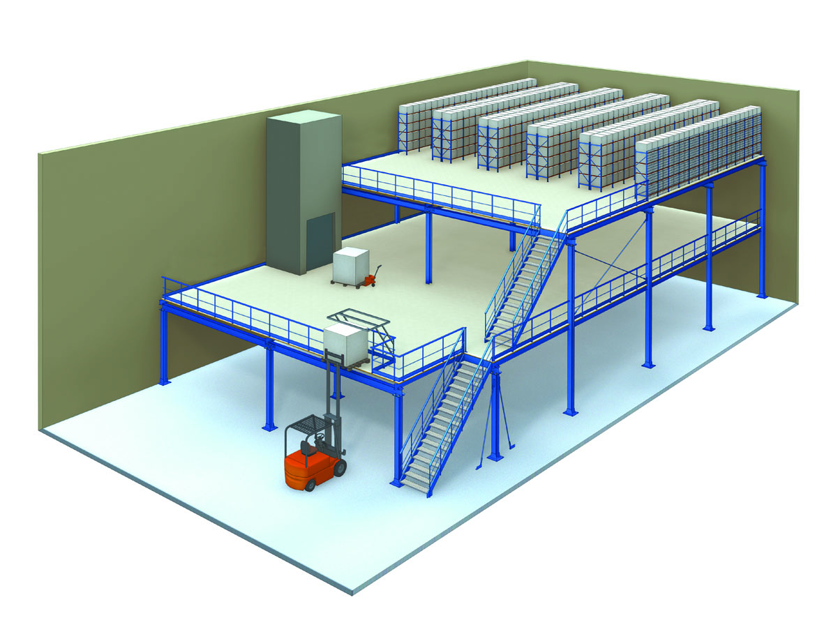 mezzanine floors for your business romstor projects