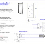 GDS Glass Doors Technical Sheet