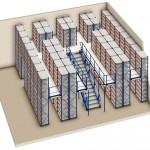 Longspan - Multi-tier Shelving