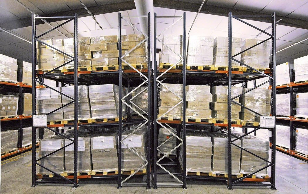 Push-back Pallet Racking
